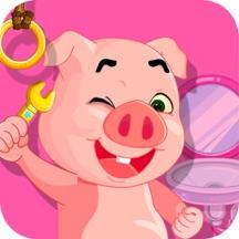 小猪佩奇修理卫生间