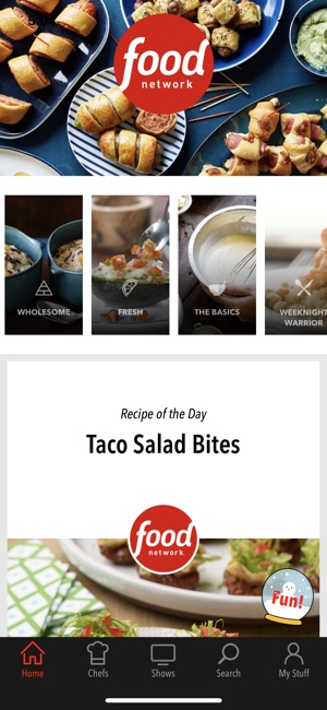 Food network in the kitchen on the app store screenshots forumfinder Choice Image