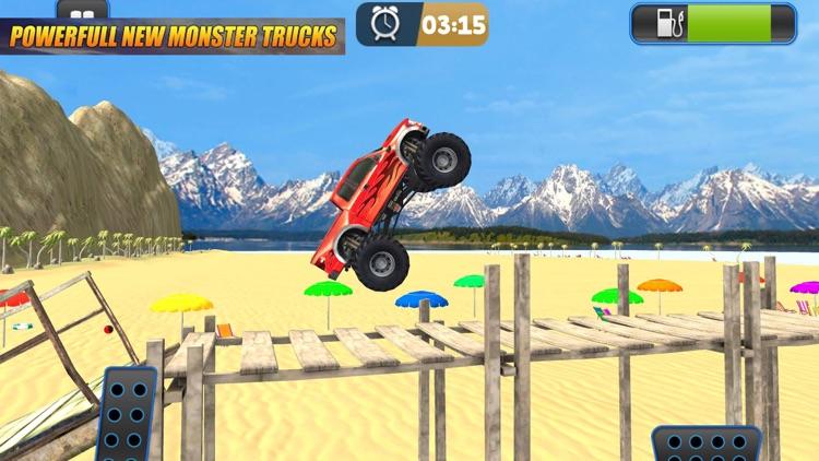 Monster Truck Crazy Stunt