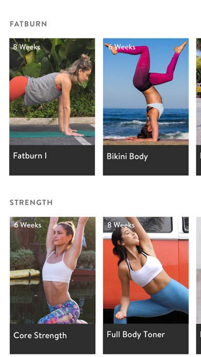 Asana Rebel: Yoga and Fitness app image