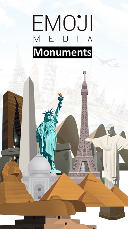 Monuments Stickers