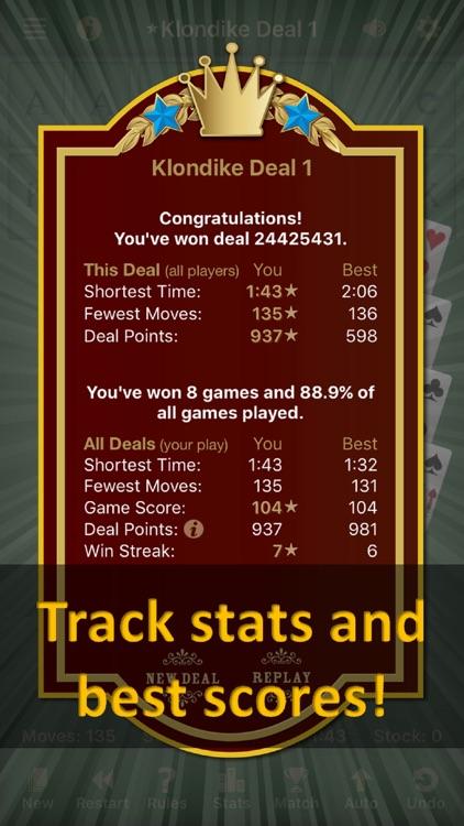 Solebon Solitaire Card Games screenshot-4