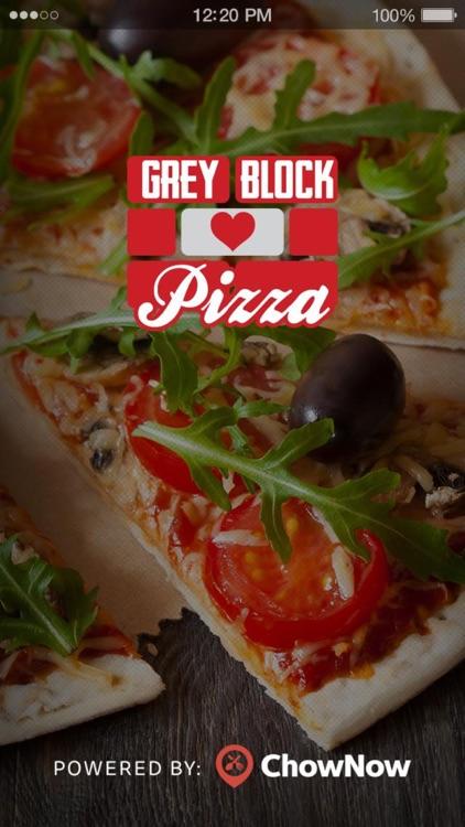 Grey Block Pizza