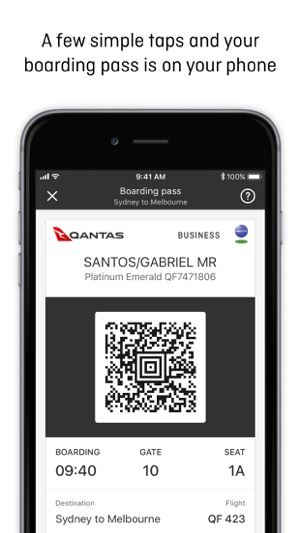 Qantas Airways im App Store