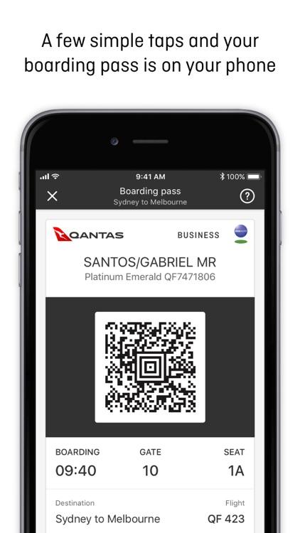 Qantas Airways screenshot-3