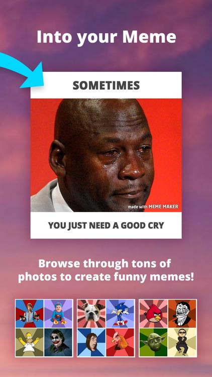 Meme Maker - Memes Generator GIF Maker Emoji maker