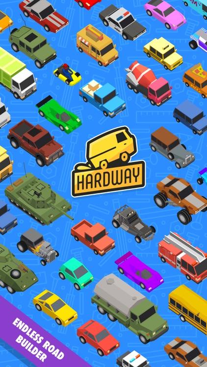 Hardway - Endless Road Builder screenshot-5