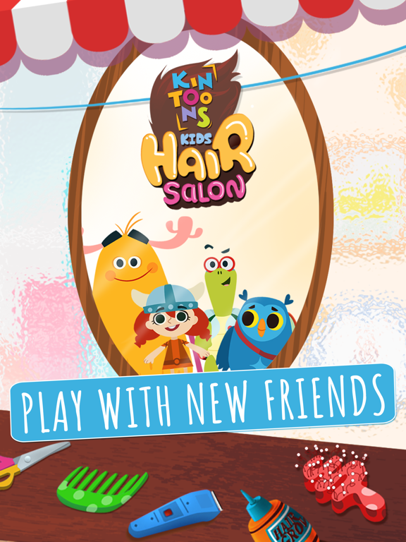 KinToons - Kids Hair Salon-ipad-0