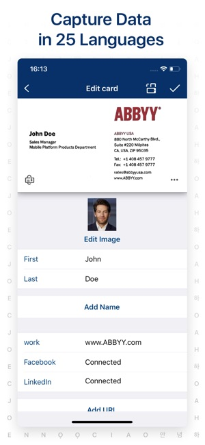 Business Card Scanner By ABBYY On The App Store