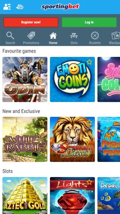 Sportingbet Online Casino screenshot one