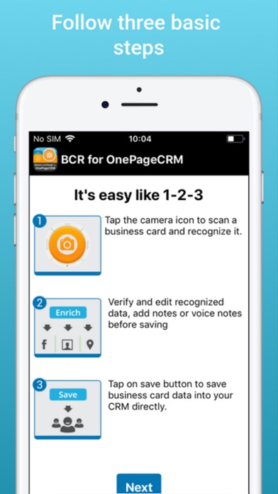 Biz card reader for onepagecrm app price drops screenshot 6 for biz card reader for onepagecrm reheart Choice Image