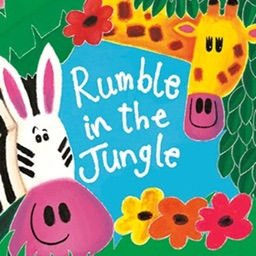 Rumble In The Jungle – An Interactive Book by Giles Andreae and David Wojtowycz, with audio reading by Hugh Laurie