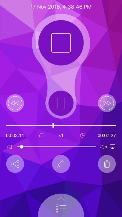 Voice Recorder - Voice Memos screenshot-3