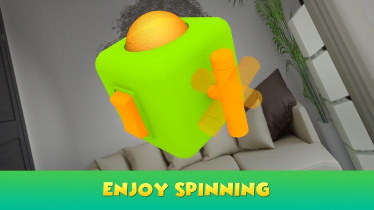Hand Fidget Cube Simulator 3D