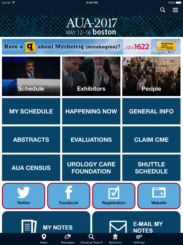 AUA Annual Meeting Apps on the App Store
