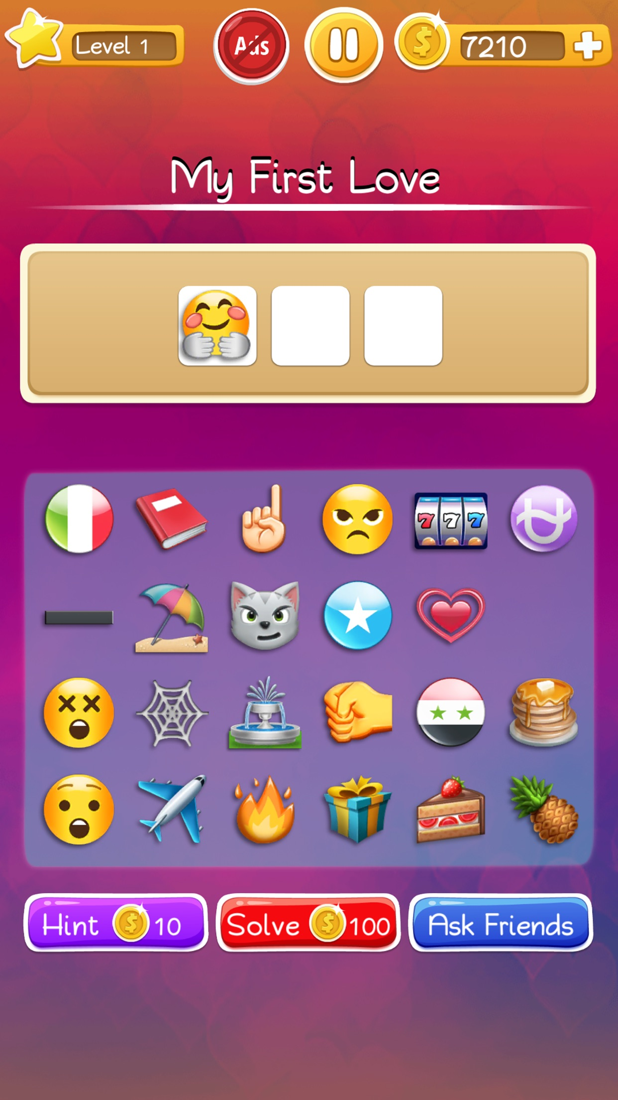 Words to Emojis - Trivia Quiz Screenshot