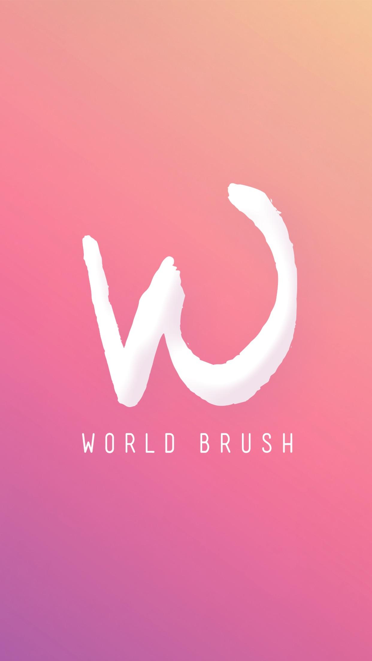 Screenshot do app World Brush