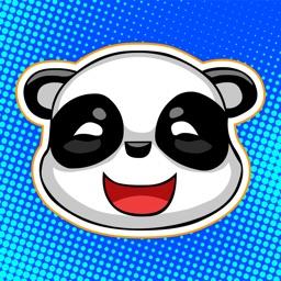 Funny Panda - Emoji Keyboard