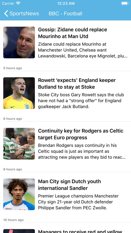 Sports News Pro - Top RSS News