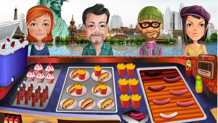 Fast Food Rush Cooking Games screenshot-4