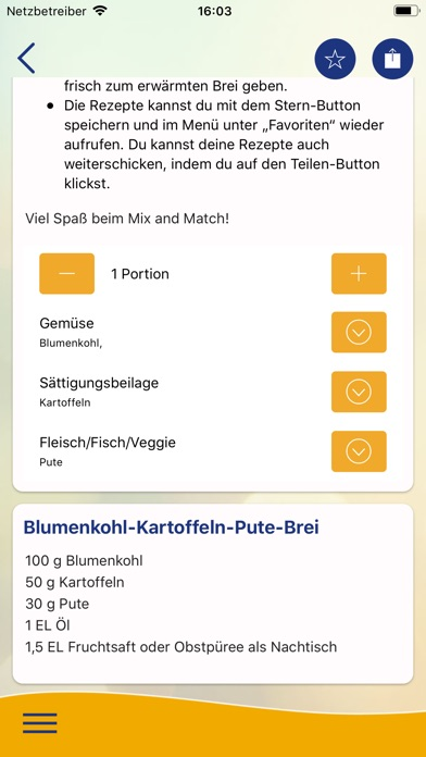 Screenshot for Baby & Essen in Germany App Store