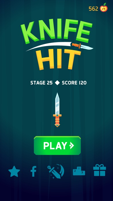 Image of Knife Hit for iPhone