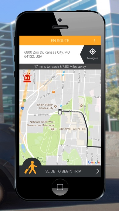Campus Car Driver Screenshot