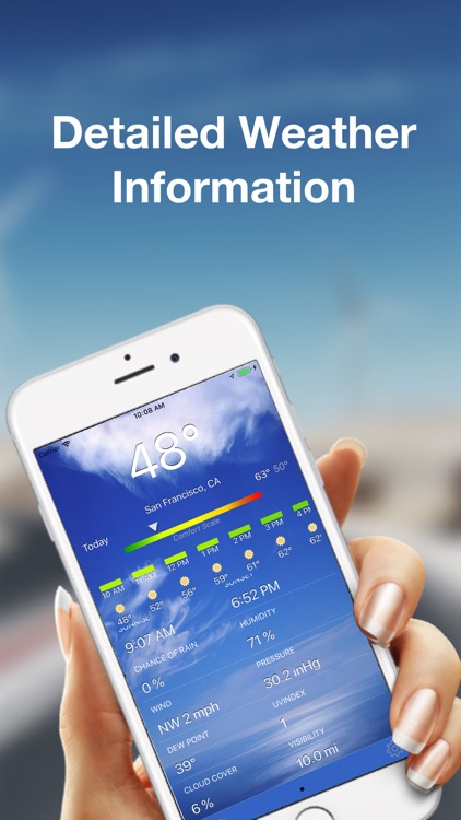 WeatherAI - Personal Forecast screenshot-1