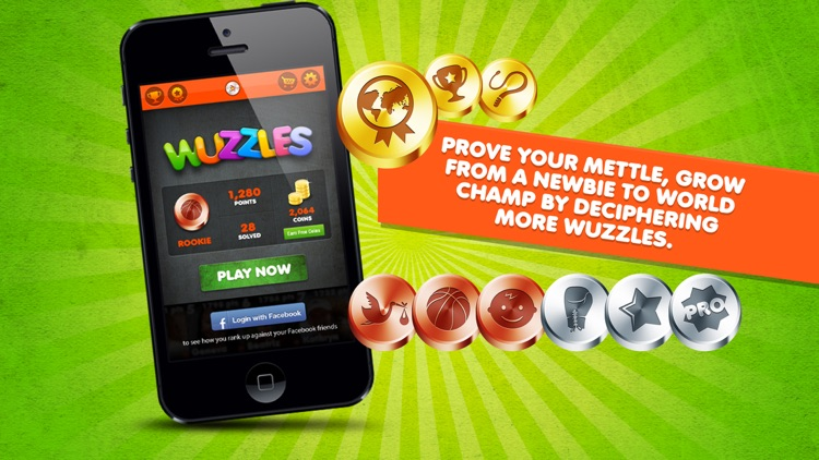 Wuzzles - Rebus Catchphrase & Logic Word Game screenshot-3