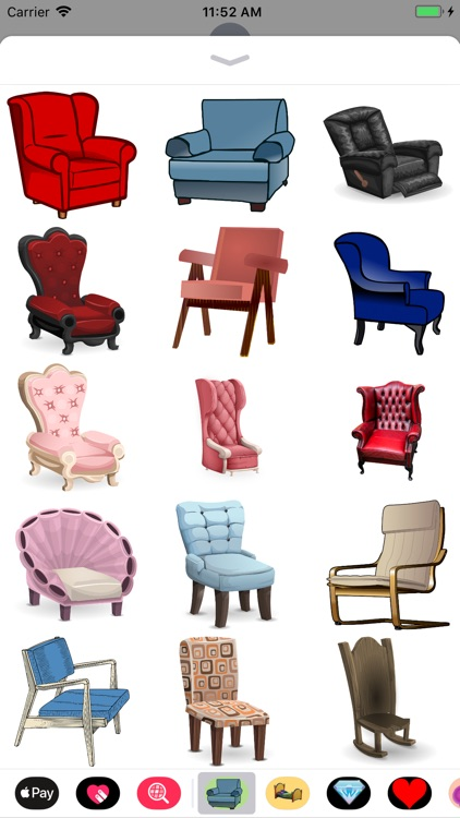 Chair Stickers