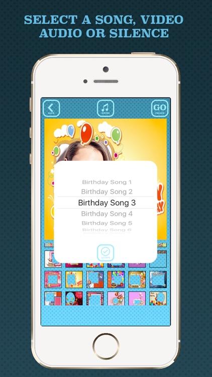 Birthday videos maker screenshot-3