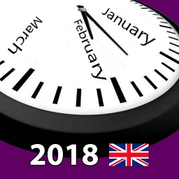 2018 UK Holiday Calendar