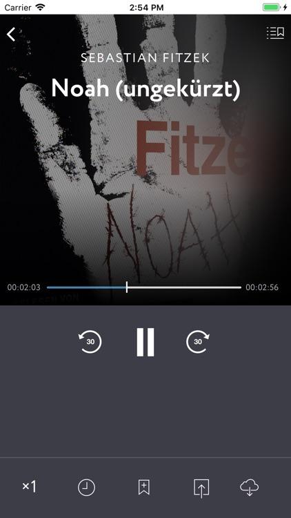 Audiobooks in German screenshot-3