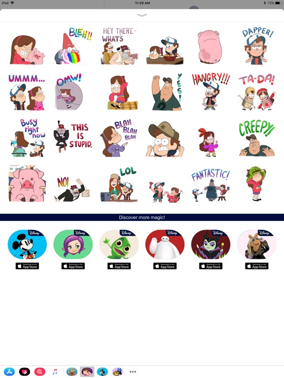 Disney Stickers: Gravity Falls screenshot 6