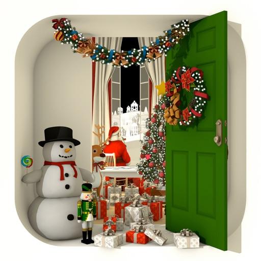 脱出ゲーム Merry Xmas 暖炉とツリーと雪の家