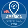 纽约州 离线地图 汽车导航系统 GPS