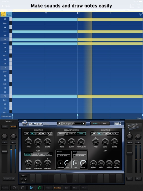 Screenshot #5 pour KORG Gadget