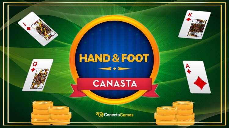 Canasta Hand And Foot screenshot-0