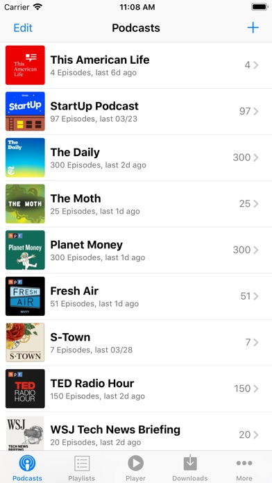 PodCruncher Podcast P... screenshot1