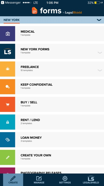 Forms by LegalShield