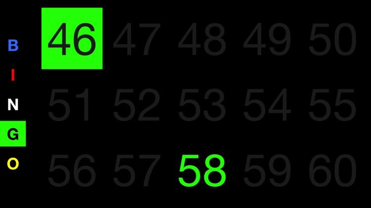 Bingo Board Display