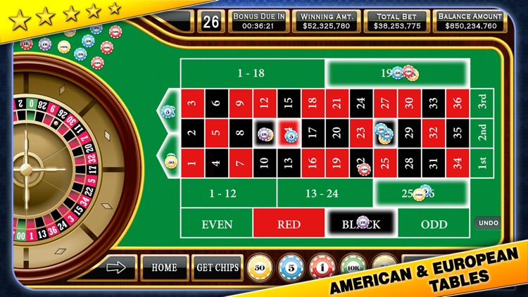 Roulette - Casino Style screenshot-4