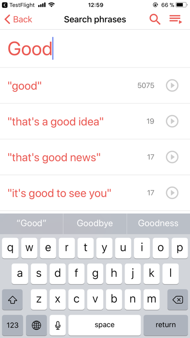 Скриншот №1 к Playphraseme