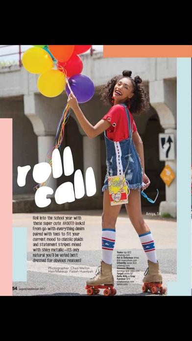 Justine (Magazine) screenshot 3