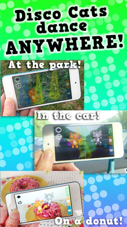 Disco Cats Augmented Reality