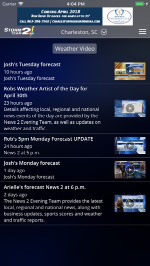WCBD Weather on the App Store