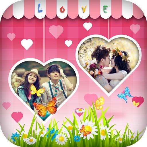 Cute Love Photo Frame