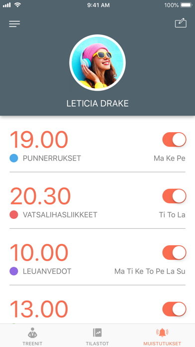 Screenshot for Just 6 Weeks PRO in Finland App Store