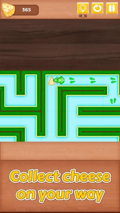Cheesy Maze - Mouse Escape Screenshot