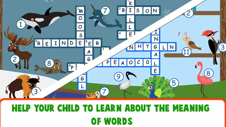 Educational Crossword For Kids screenshot-3